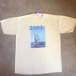 2001 Rendezvous Tour Island Packet Yachts shirt
